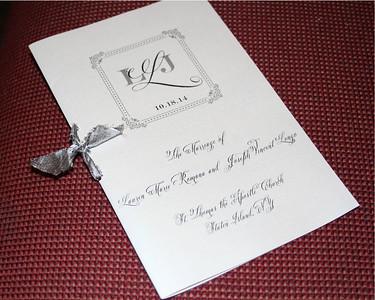 Lauren and Joe's Wedding 10-18-14