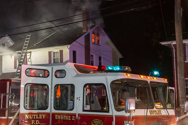 Nutley NJ 2nd alarm, 53 Beech St, 05-18-17