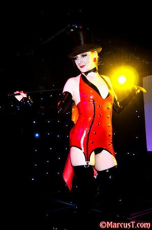 Dec 2010 - Lady Lucie Fashion Show - Torture Garden NYE 2010