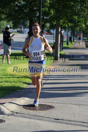 5K at 1.5 mile mark - 2013 Portofino Run for Art