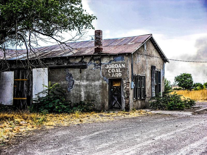 Jordan Coal Yard...An old abandoned building in Marfa