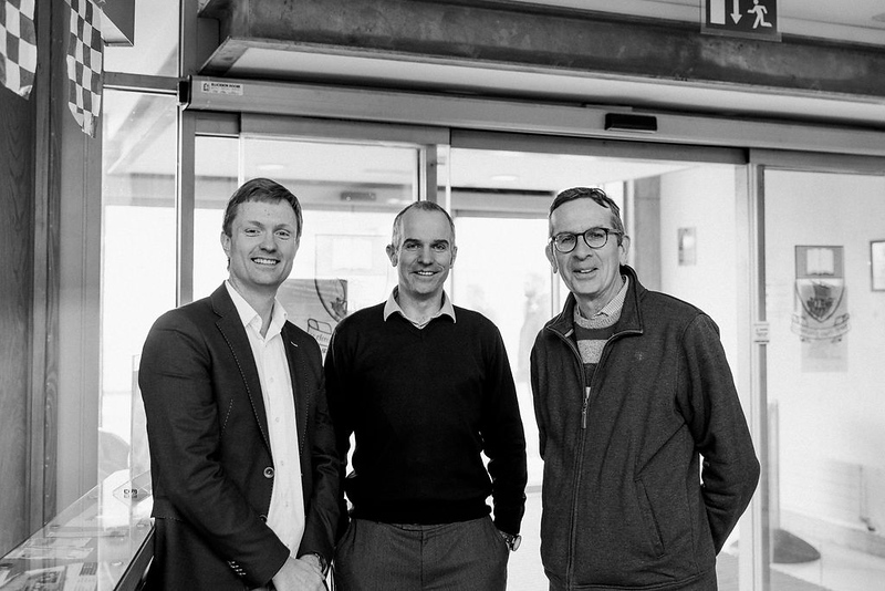 Dr. Derek Sinnott, John Carney, Dr. Brian Graham