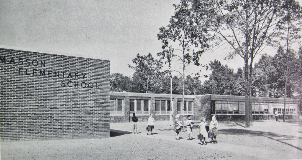 . Historic photo provided by Jim Smith <br> Masson Elementary School was built in 1959 at 1800 W. 40th St., Lorain.