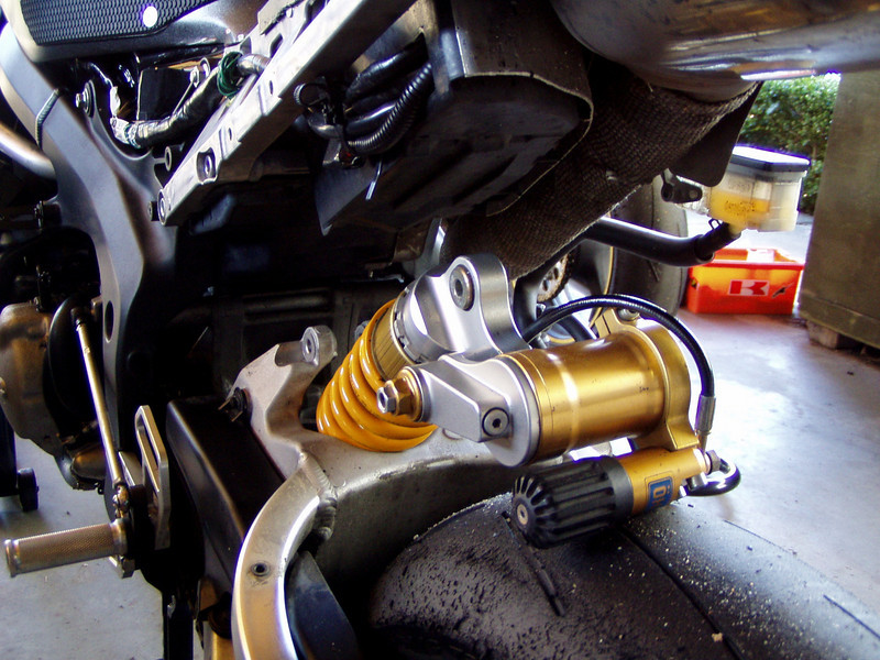 In goes the Ohlins