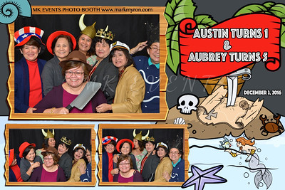 Austin and Aubrey's Birthday