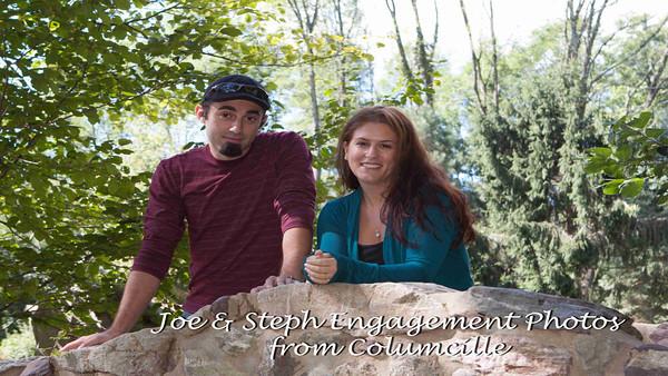 Steph & Joe at Columcille