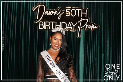 December 07, 2019 - Dawn's 50th Birthday Prom