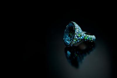 1/1 Peacock Ring