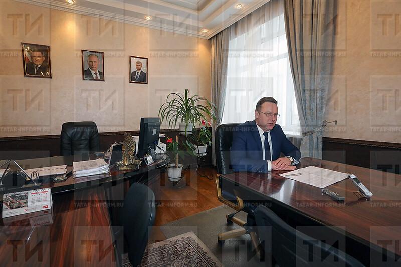 Зам начальника ГЖД, Черемнов АП, интервью в его кабинете.