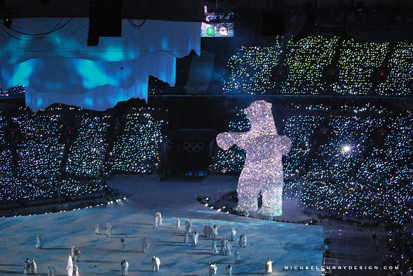 2010 Olympics Vancouver BC - Ice Bear
