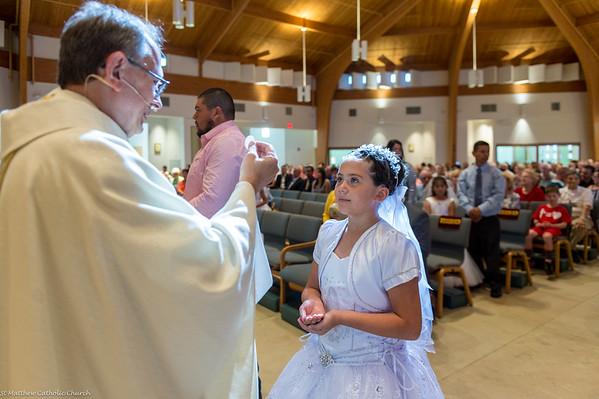 Saint Matthew First Communion