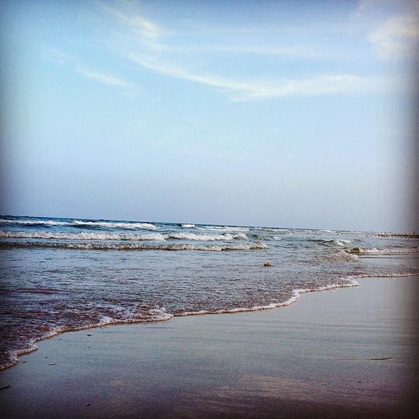 #beach #evening