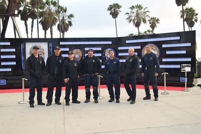 LAPD MEMORIAL WALL IN VENICE BEACH 7-4-15