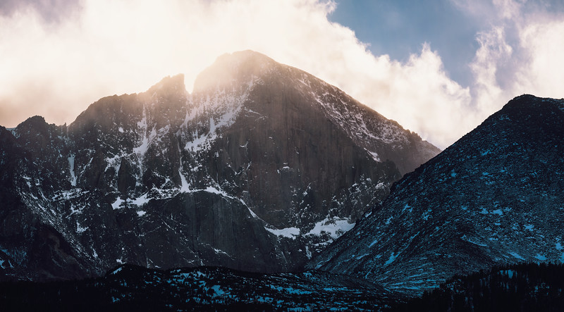 Heaven and Earth - Longs Peak - January