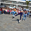 250 Dancers in CAsemates Flas Mob dance