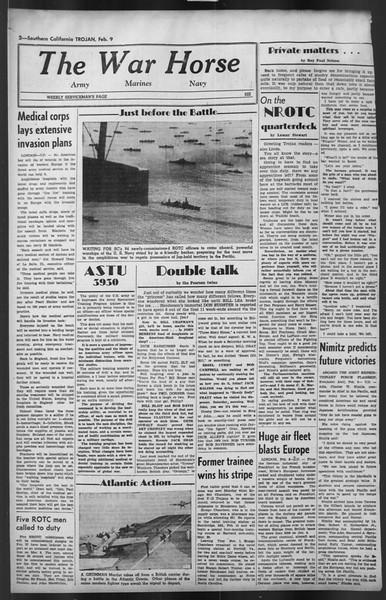 The Trojan, Vol. 35, No. 83, February 09, 1944