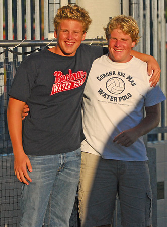 Kevin / Evan Beckman CDM water polo game