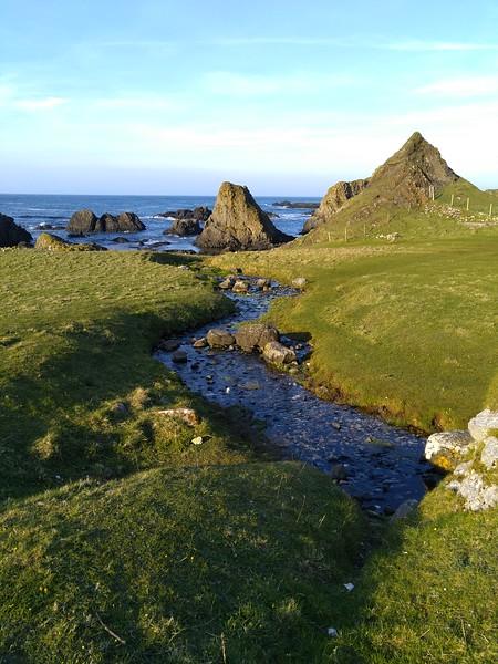 Cliffs on Ballintoy Coastline, County Antrim, Northern Ireland