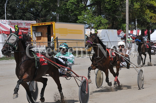 08-31-13 Sports harness racing @ Fulton cnty fair