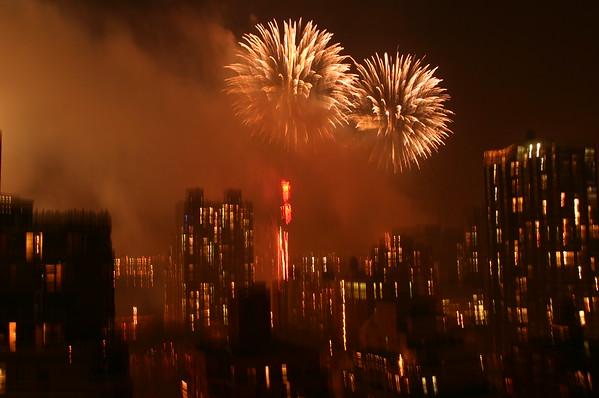 July 4, 2005 - Rooftop Fireworks