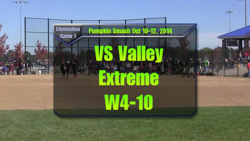 Pumpkin Smash Oct 10-12, 2014 Game 4 vs Valley Extreme W4-10.mp4