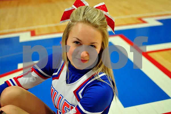 Natalie Cheerleading
