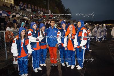 Cheerleaders @ Homecoming Game 31 Oct 2014