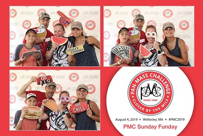 Step & Repeat Photos - PMC Ride - Wellesley