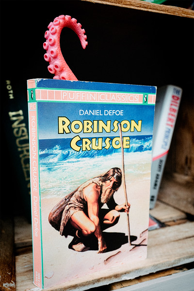 Curling up with Robinson Crusoe
