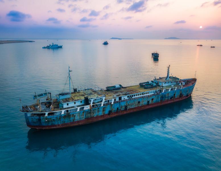 Abandoned Ships In Sanya