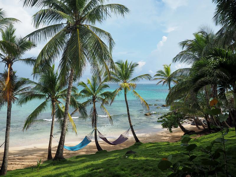 View from Yemaya Island Hideaway cabana