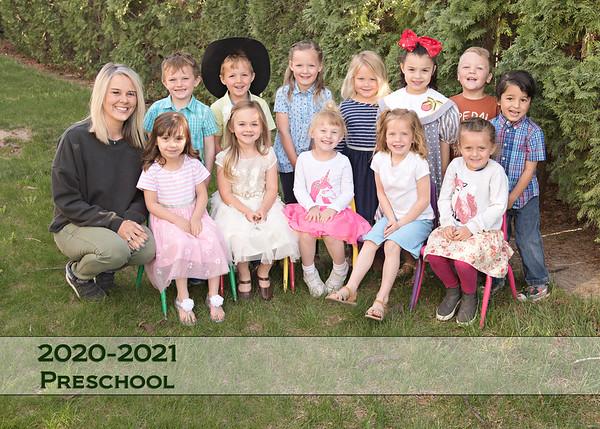 Homedale Preschool Spring 2021