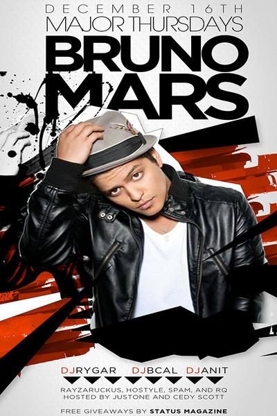 MAJOR THURSDAYS w/ Bruno Mars @ SABOR Tapas Bar & Lounge 12.16.10