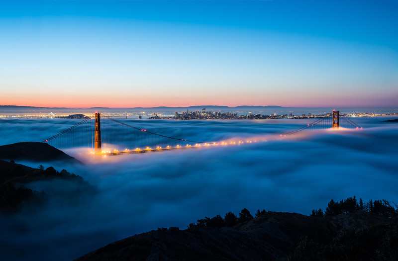 Normal crop of the low fog. I just love how the bridge is slightly revealed