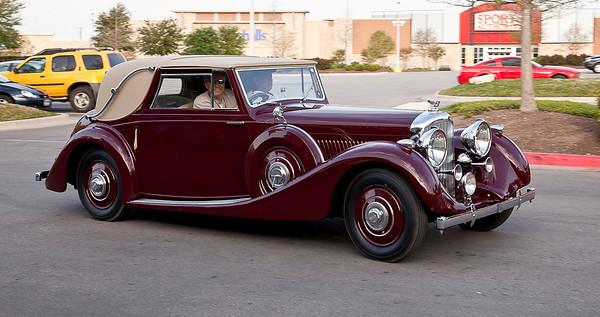 B39LE - 1938 4 1/4 Litre James Young Sedanca Coupe