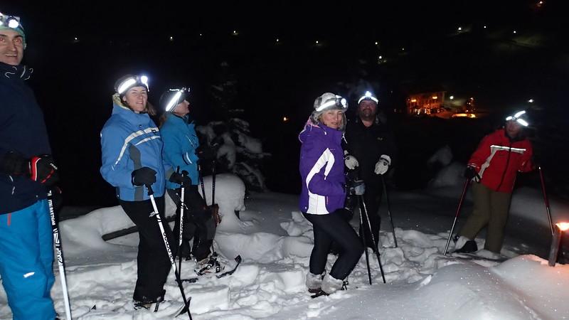 Snow shoe brigade