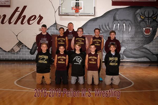 2018-2019 Middle School Wrestling