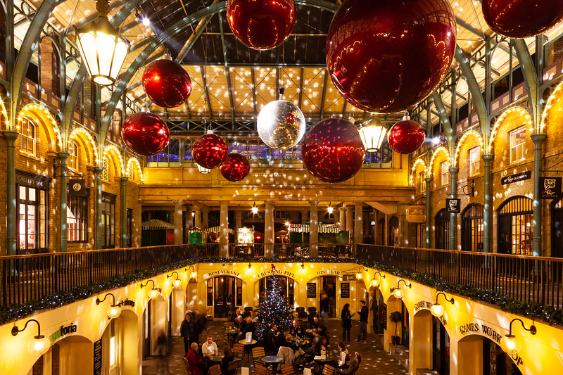 Covent Gardens at Christmas