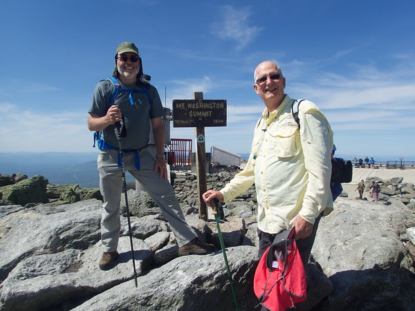 5/26/16 - Mt Washington with Jere