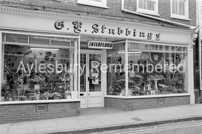 G. F. Stubbings, florist, Temple Street