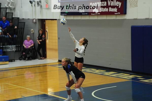 BBE volleyball v. MACCRAY 08-29