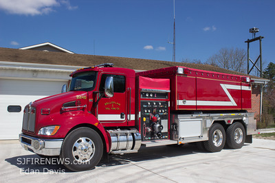 Belleplain Fire Co. Cape May County NJ, New Tanker 22-46