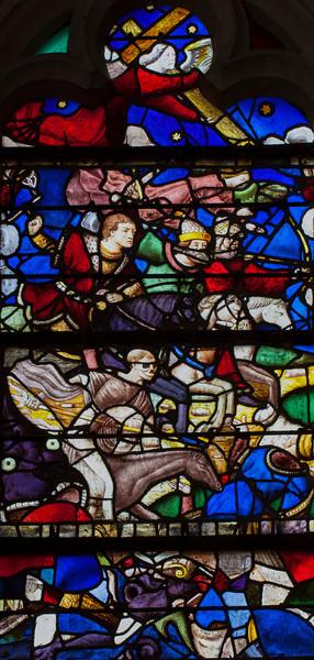 Chaource, Eglise Saint-Jean-Baptiste - The Four Hoursemen of the Apocalypse