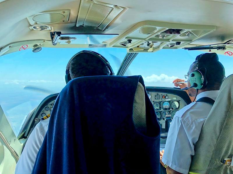 Safarilink flight to Samburu
