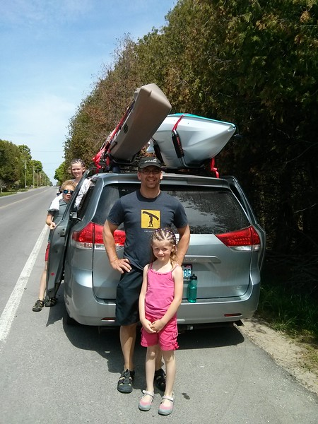 Happy Father's day - kayaks for Kent