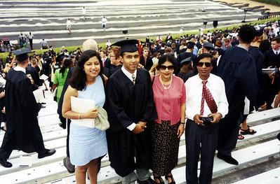 Amit UGA Graduation 2000
