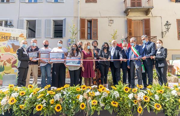 Inaugurazione Cheese 2021 e Premio Resistenza Casearia