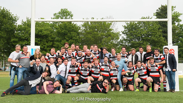 A.S.R.V. Ascrum 1 vs Oemoemenoe 1 - Rugby Nederland Premiership Plate Final - 19 May 2019