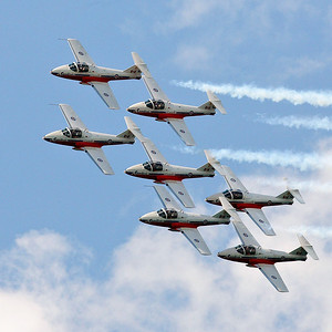 Canadian Forces Snowbirds Over Cobourg