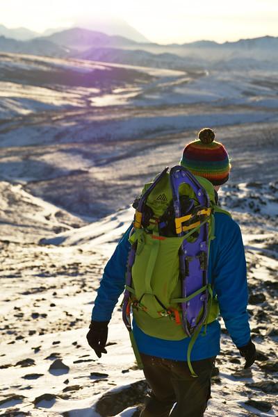 Hiking in Denali
